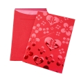 Hot stamping chinese red envelopes