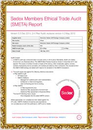Sedex Members Ethical Trade Audit (smeta) Report1